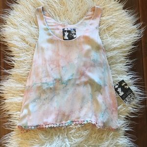 NWT Young Fabulous & Broke Crop Tank